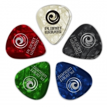 PENA-10 ADET ASSORTED PEARL PICKS HEAVY:  1CAP6-10