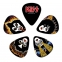 PENA- KISS Guitar Picks - Rock and Roll Over - Light - 10 Pack:  1CBK2-10K2