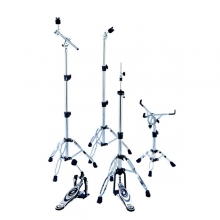 HARDWARE SET (1AD TRAMPET SEHPA+2AD ZİL SEHPA+1AD HİHAT SEHPA+PEDAL) :PEACE TAIWAN