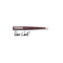 BAGET(ÇİFT) SIGNATURE DAVE WECKL NYLON, HICKORY, 0.560x16 1/4 , MEDIUM TAPER, TIP: NYLON/ BARREL, SURFACE: SMALL/PAINT