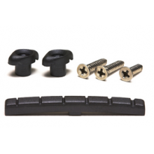 Black Tusq Xl Slotted Nut:  PT-5001-00