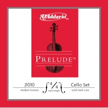 CELLO TEL SETİ, PRELUDE, 10 SETLİK PAKET, 4/4 SCALE, MEDIUM TENSION, SOLID STEEL CORE (MASİF ÇELİK ÇEKİRDEK), CLEAR TONE