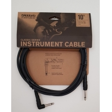 GİTAR KABLO 10 İNCH CABLE RİGHT ANGLE