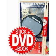 PERKUSYON BAŞLANGIÇ SETİ, BAGET SD1, 6 PAD, DVD, P
