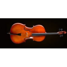 CELLO KILIFLI+YAY+REÇİNE, 3/4 SCALE, FRENCH STYLE,