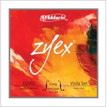 VİOLA TEL SET, ZYEX, LONG SCALE, MEDIUM TENSION
