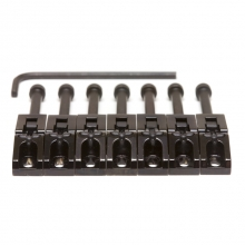 SS Floyd Rose Ssddles Black 7 String